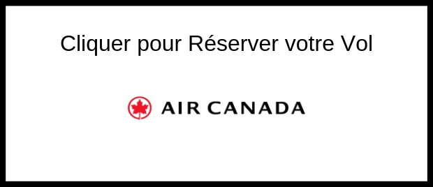 Réserver votre vol Air Canada